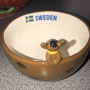 NWT Sweden Moose bowl